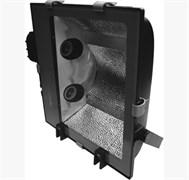 FL- 2015B-1  BOX  2х400W FOTON LIGHTING 600x490x162 Черн симметр защелки-корпус